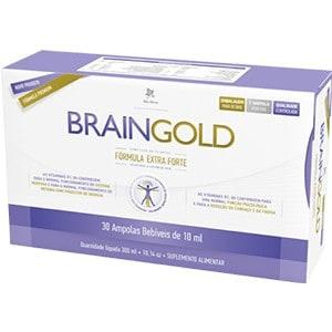 BRAIN GOLD 30 ampolas