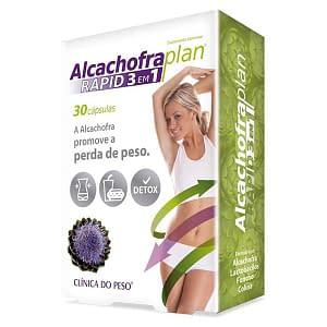 Alcachofra Plan Rapid 3 em 1 - 30 cápsulas - Fharmonat