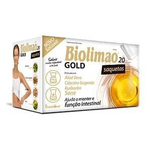 BIOLIMAO GOLD SOLUVEL 20 SAQUETAS