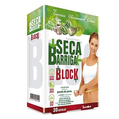SECA BARRIGA BLOCK 30 CAPSULAS